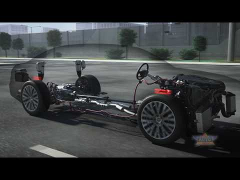 New Audi A8 Fully Active Suspension