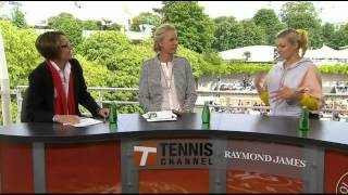 Maria Kirilenko Interview in Tennis Channel