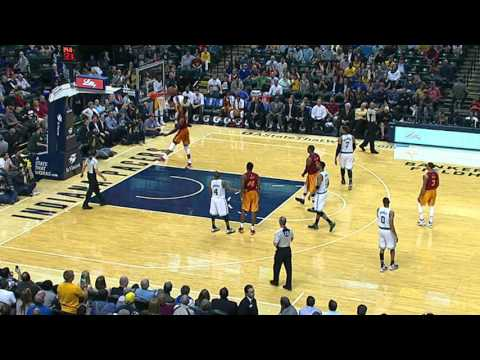 Paul George With The 360 Windmill That Didn't Count