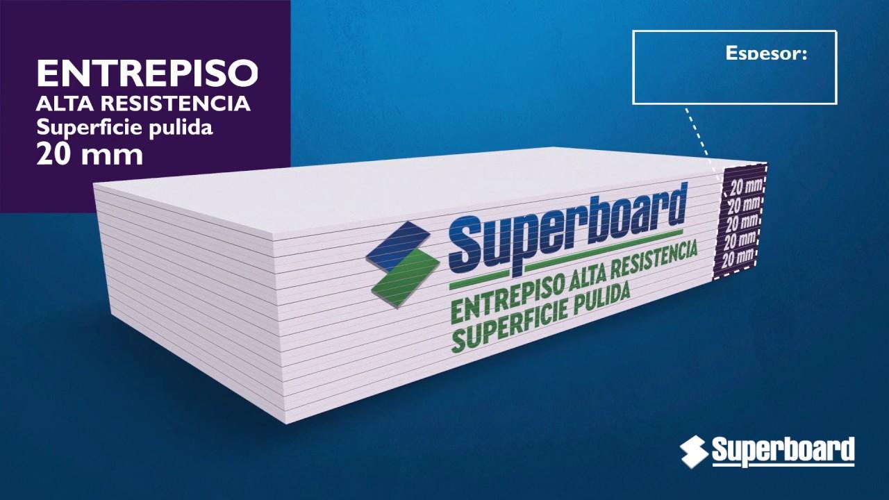 Placa Superboard Aplicación Entrepiso de Alta Resistencia