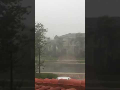 Hurricane Irma in Wellington FLorida