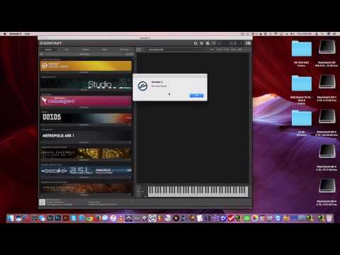 "2nd  way of  adding Libraries in Kontakt when you get ""no library found"""