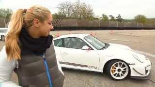 Porsche 911 GT3 RS 4.0 Sabine Lisicki Vera Zvonareva Test Drive Weissach