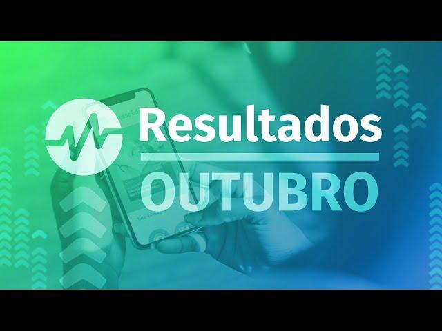 Resultados Webpalestras - Outubro 2019