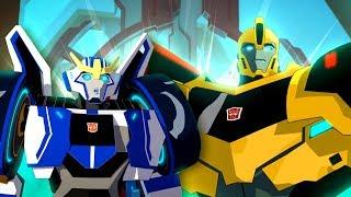 Мультик Трансформеры: Роботы под прикрытием 1/1. Пилот ч1