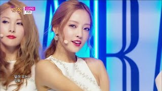 【tvpp】kara cupid 카라 큐피드 comeback stage show music core live