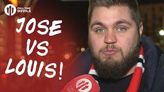 Howson: Jose Vs Louis | Manchester United | FANCAM
