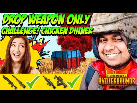 Drop Weapon Only Challenge 😱 - PUBG Mobile Funny Moments | Winstoner Playz #5