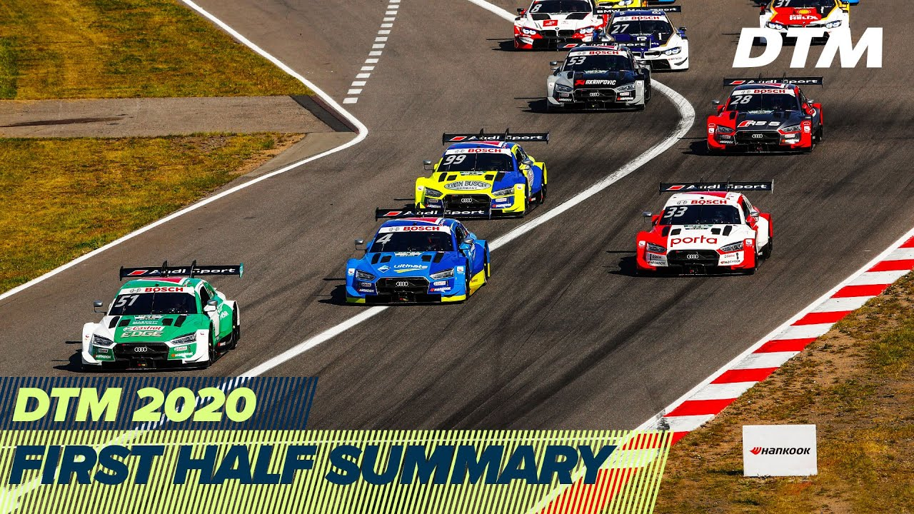 First half is in the books! | DTM Season 2020
