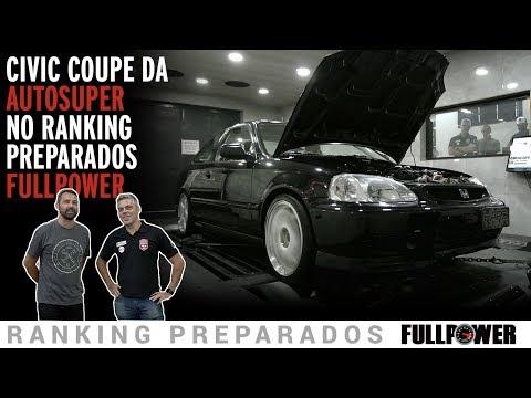 Civic da Autosuper no Ranking Preparados FULLPOWER: turbo, cavalaria pesada e torque!