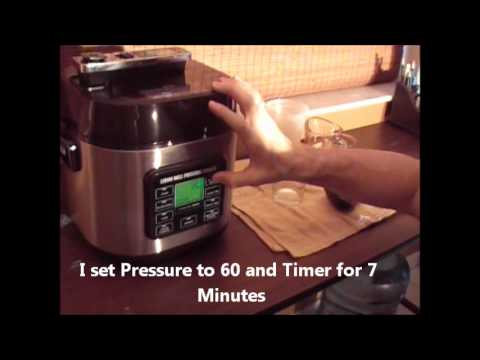 Prepping Rice In A Pressure Cooker