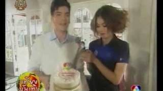 mai davika surprise new wongsakorn with bday cake