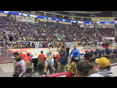 Josiah Jones Class of 2018 220 lb. 2016-2017 Wrestling Matches