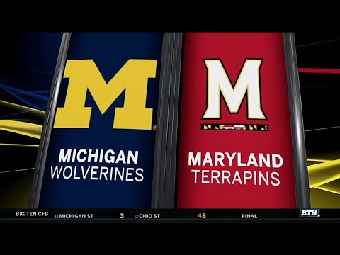 Michigan at Maryland - Football Highlights