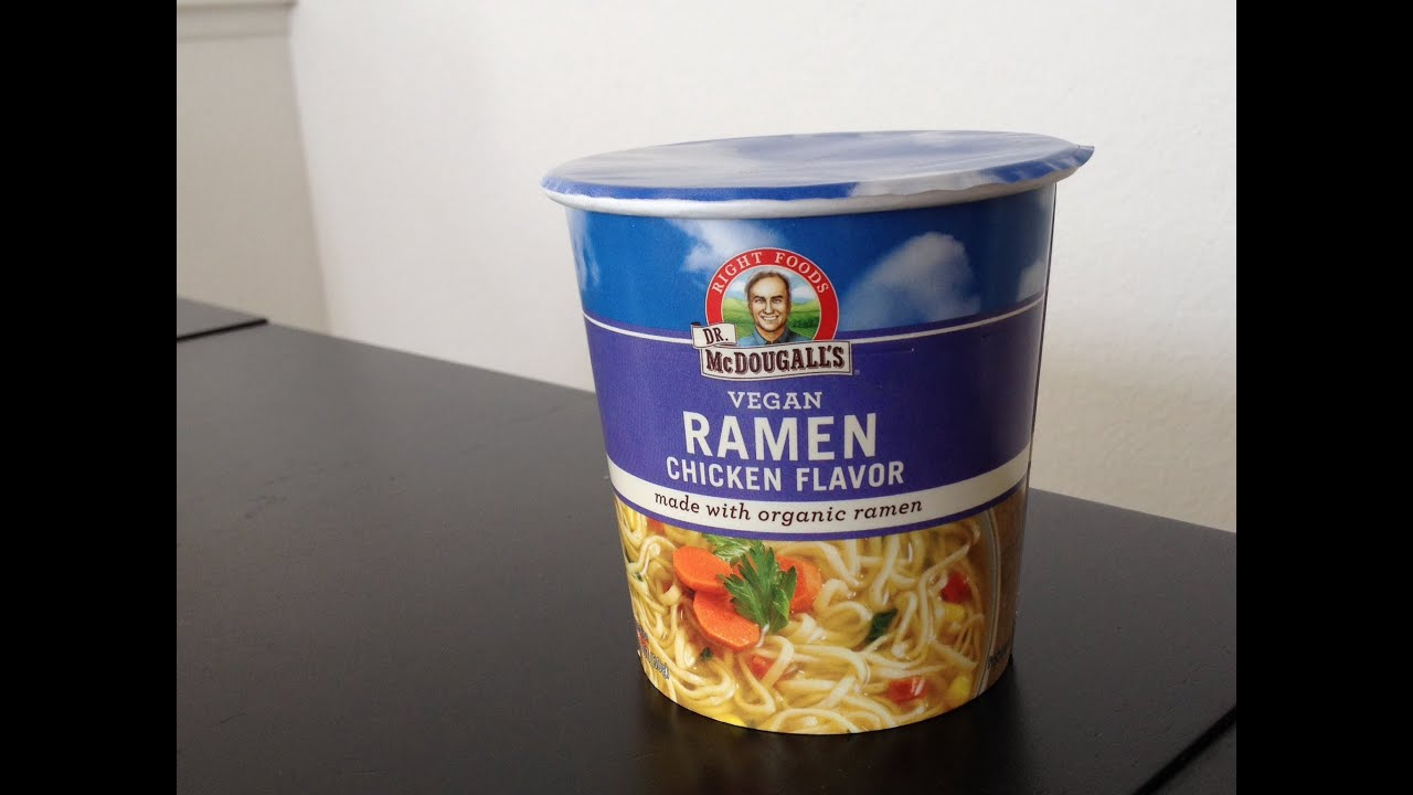 Dr Mcdougall S Right Foods Ramen Chicken Soup With Noodles
