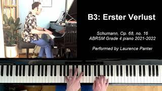 B:3 Erster Verlust (ABRSM Grade 4 piano 2021-2022)