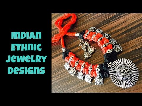 Indian Ethnic Jewelry Designs Part 02