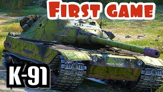 First game in the K-91 || WoT Console Hot Wheels PS4 XBOX