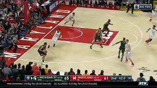 Michigan State at Maryland - Men's Basketball Highlights