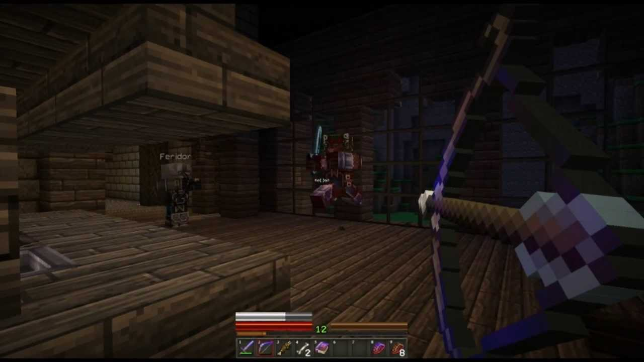 Minecraft   Herobrine's Mansion   E2: Inside the Mansion ...