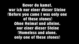 Sido feat. Mark Forster - Einer dieser Steine englische übersetzung! [LYRICS/ENGLISH]
