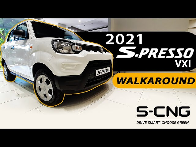 New S-Presso VXi SCNG 2021 - Walkaround | Interior & Exterior