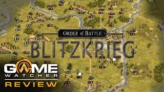 Order Of Battle Blitzkrieg Review