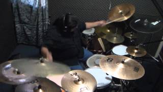 KISS-Creatures of the Night-(Jeravi drum cover)