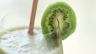 Kiwi Banana Smoothie & How To Freeze Bananas 스무디 만들기