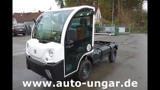 Youtube-Video Goupil G4 Elektrofahrzeug Fahrgestell 13,8KWH Lithium Picnic