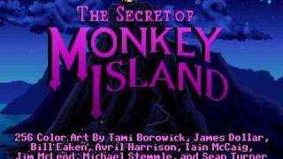 Repeat youtube video Monkey Island 1 Intro (mt32 midi music)