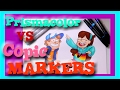 Prismacolor MARKERS VS Copic MARKERS (Tips and Tricks) - @dramaticparrot