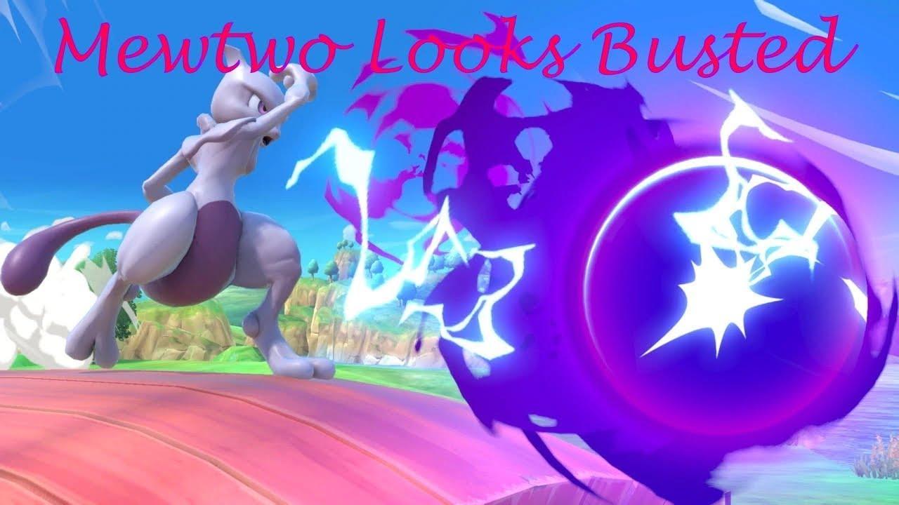 Super Smash Bros Ultimate Character Profiles Mewtwo Shacknews