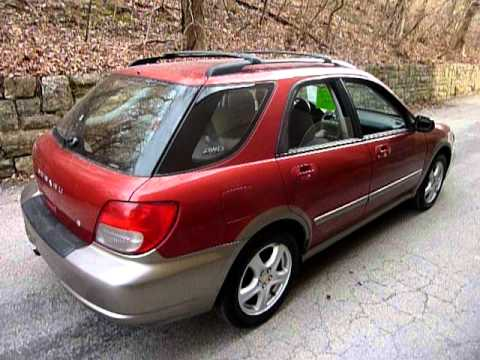 2002 subaru impreza wagon outback sport youtube. Black Bedroom Furniture Sets. Home Design Ideas