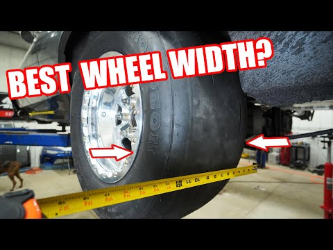 What Size Wheel For 235 275 & 315 Drag Radials For The Best Performance! Tech Tip Tuesday