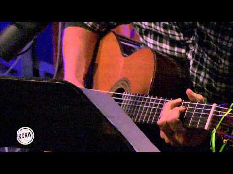 "M. Ward performing ""Hi-Fi"" Live on KCRW"