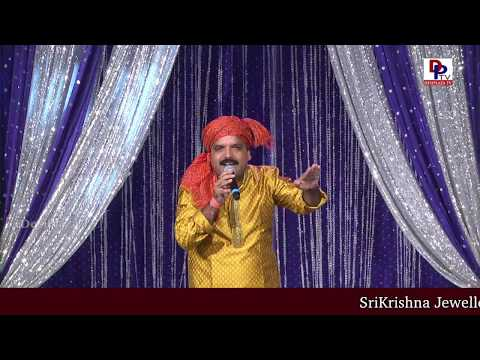 Folk Singer Bikshu Naik singing LIVE at American Telugu Convention Banquet Night | DesiplazaTV