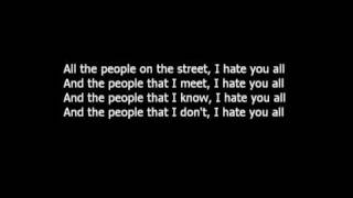Get Set Go - I Hate Everyone | lyrics |