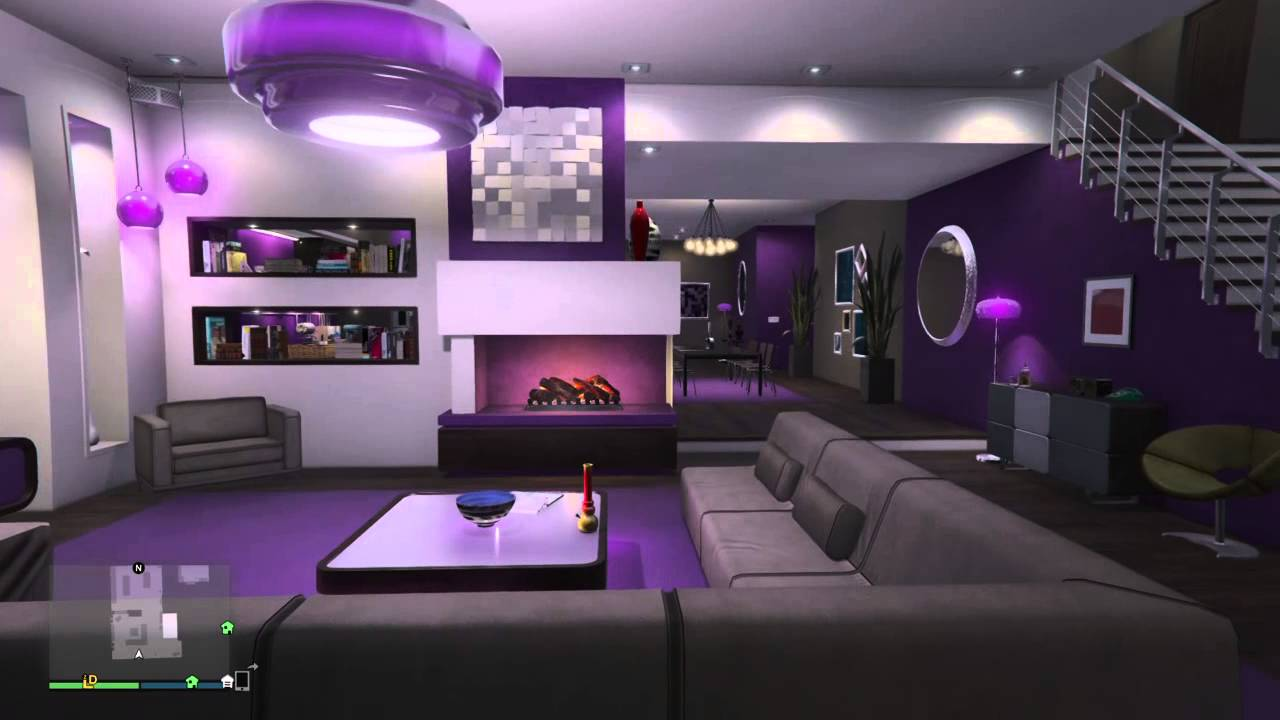 GTA V Online Penthouse Apartment Designs - Regal (7 of 8) - YouTube