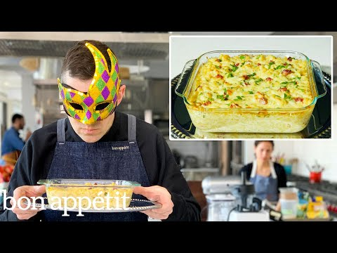 Recreating Bobby Flay's Macaroni & Cheese Carbonara From Taste | Bon Apptit