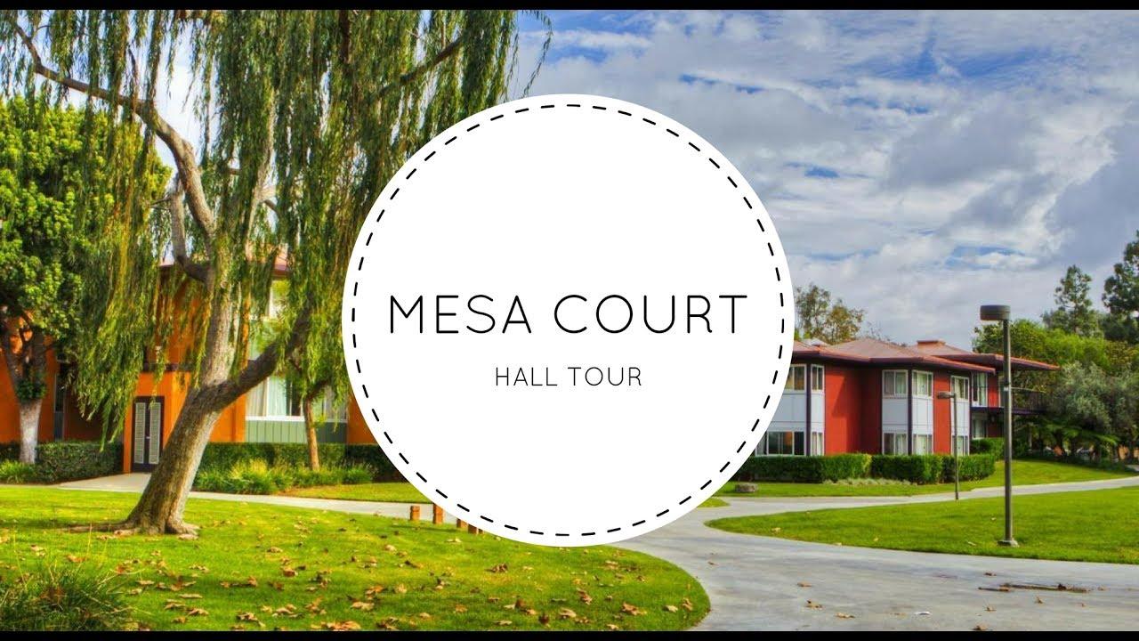 UCI Mesa Court Hall Tour
