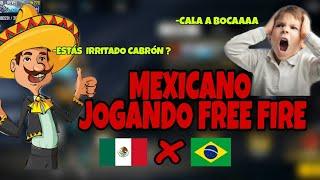 MEXICANO JOGANDO FREE FIRE  Pt.1🇲🇽