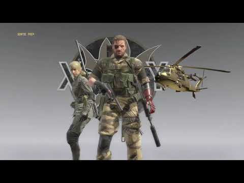 Metal Gear Solid V I'm Number 1 In FOB Missions Quiet As Sniper Wolf In MGS1 Side Op Mission