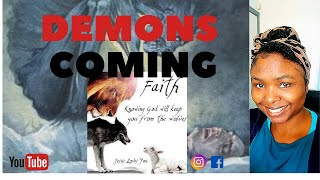 DEMONS COMING!! THE THINNING OF THE VEIL CONTINUES.
