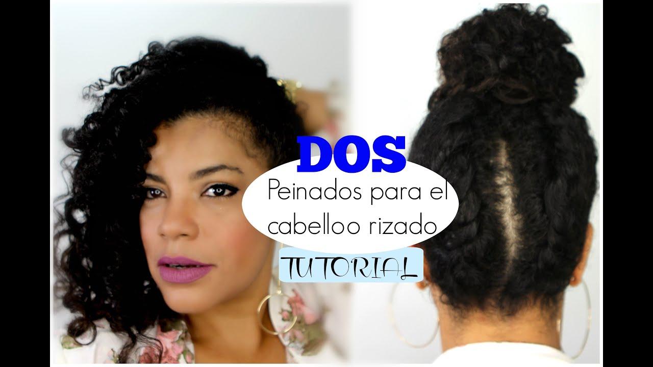 Peinados Faciles Para Cabello Afro Corto Peinados Novias