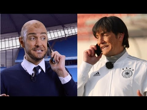 Jogi Löw gegen Pep Guardiola - Deutschland : Spanien