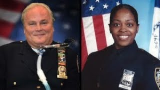 Fallen NYPD officers names added to memorial wall