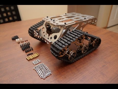 Tank chassis from AliExpress