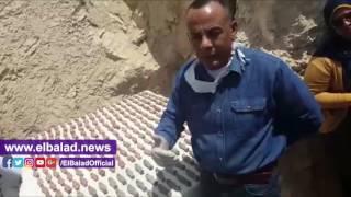 شاهد.. اكتشاف مقبرة «أوسرحات» بالأقصر .. فيديو وصور