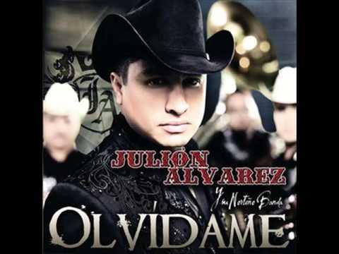 JULION ALVAREZ OLVIDAME KARAOKE GPK - YouTube